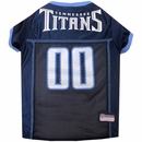 Tennessee Titans Dog Jersey - Large