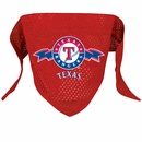 Texas Rangers Dog Bandana - Small