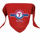 Texas Rangers Dog Bandanas