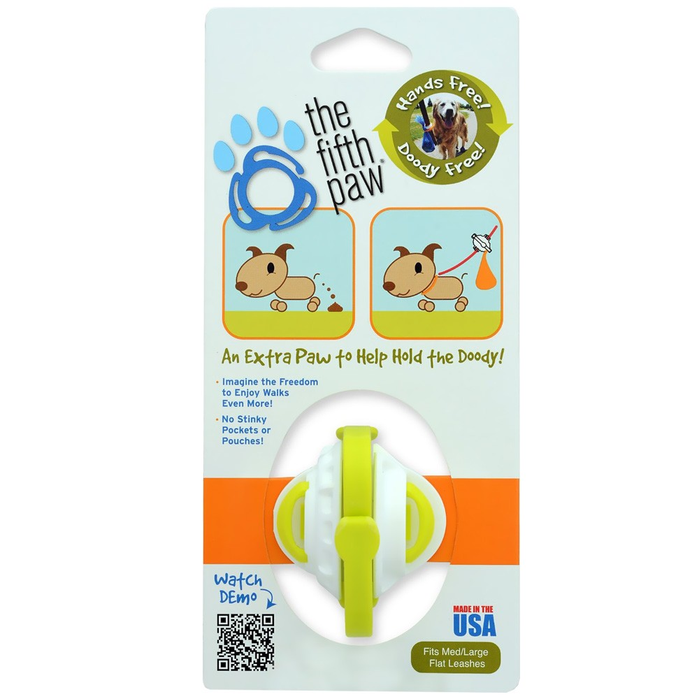 The Fifth Paw® Hands Free Poop Bag Carriers