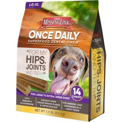 The Missing Link Once Daily Hip & Joint for Large/XLarge Dog (14 count)