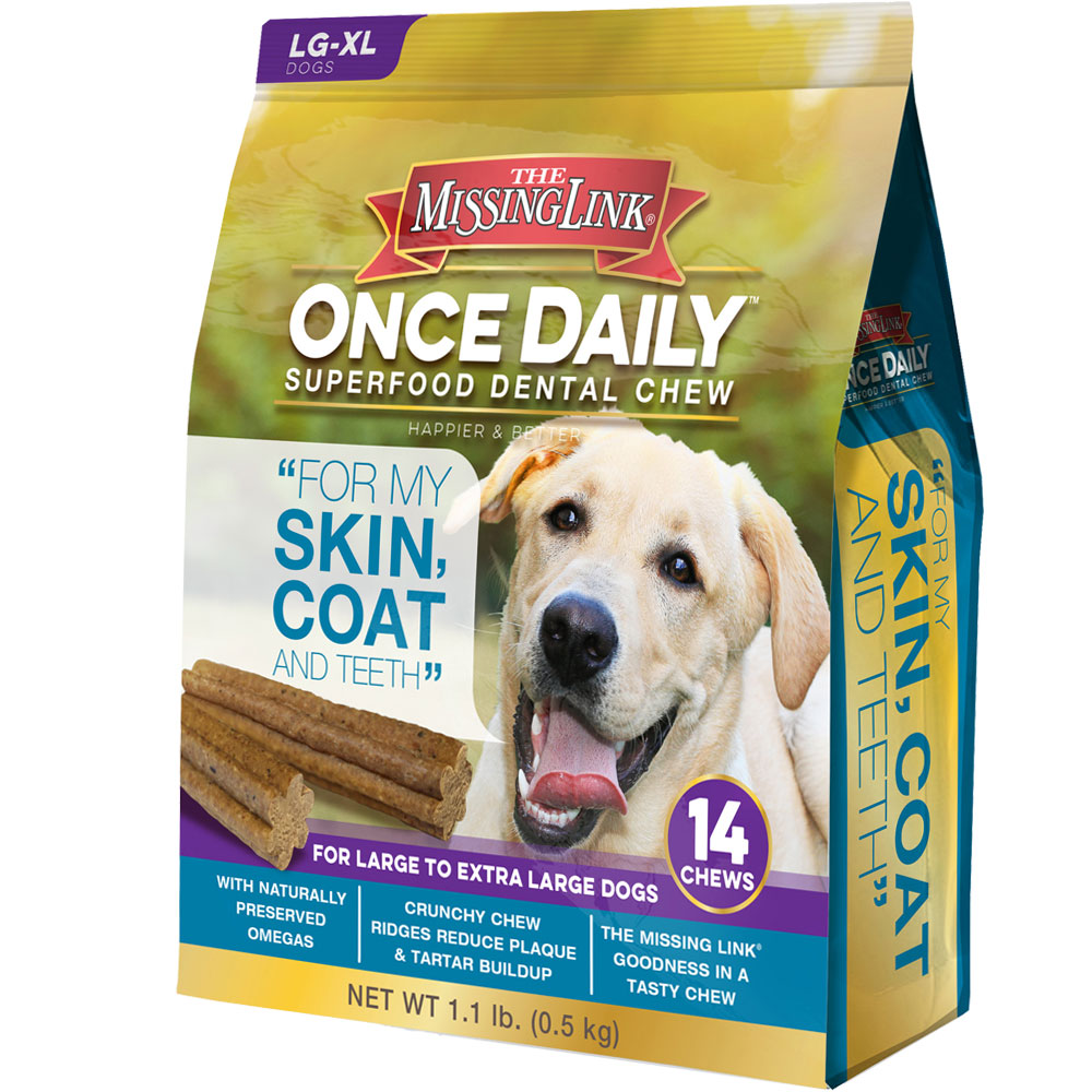 The Missing Link Once Daily Skin & Coat for Large/XLarge Dog (14 count)
