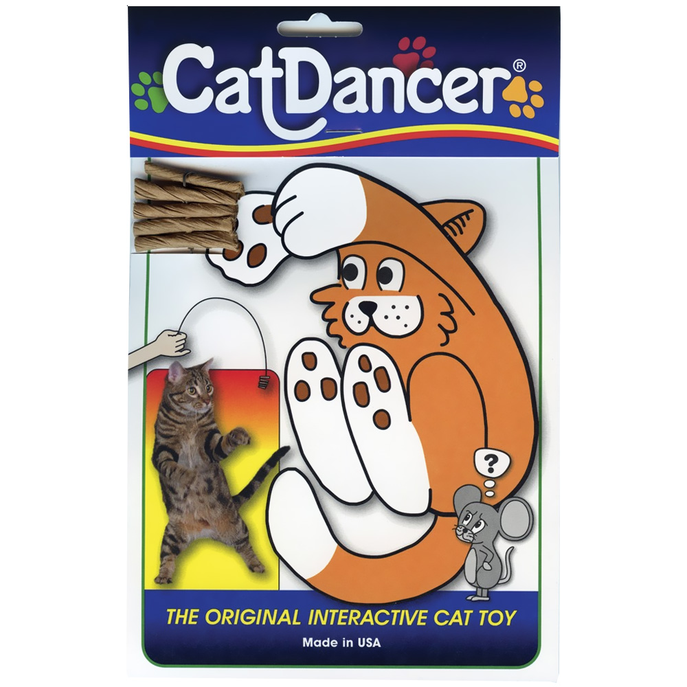http://www.entirelypets.com - The Original Interactive Cat Toy by CatDancer 2.49 USD