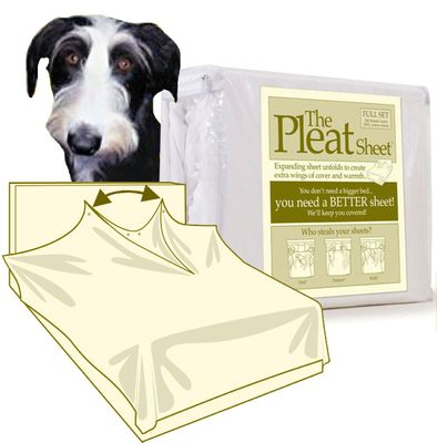 The Pleat Sheet - For Dogs - from EntirelyPets