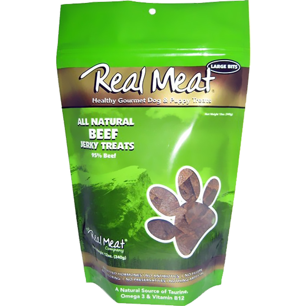 The Real Meat - Beef Jerky Treat (12 oz) im test