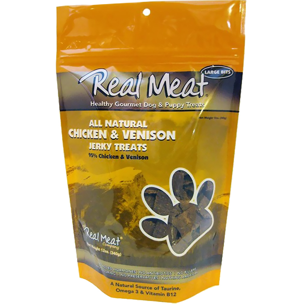 The Real Meat - Chicken & Venison Jerky Treat (12 oz) im test