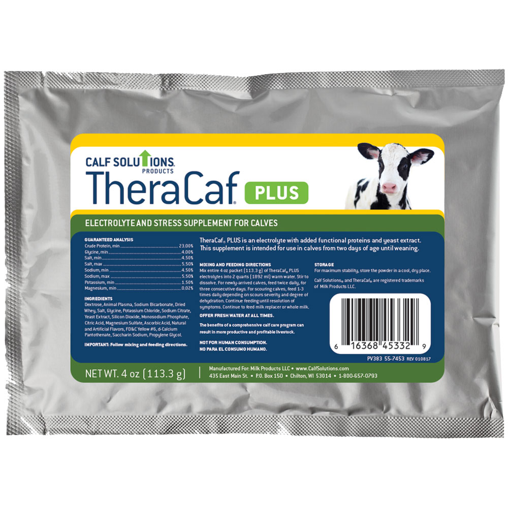 TheraCaf PLUS Electrolyte & Stress Supplement for Calves (4 oz) im test
