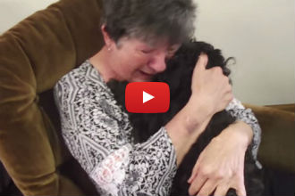 This Woman Has an Emotional Reunion With Her Missing Dog - I'm in Tears!
