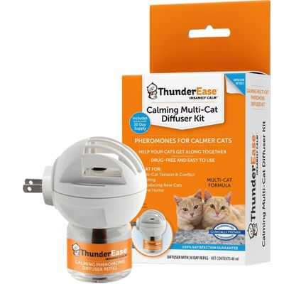 ThunderEase for Calming Multi-Cats - Diffuser Kit
