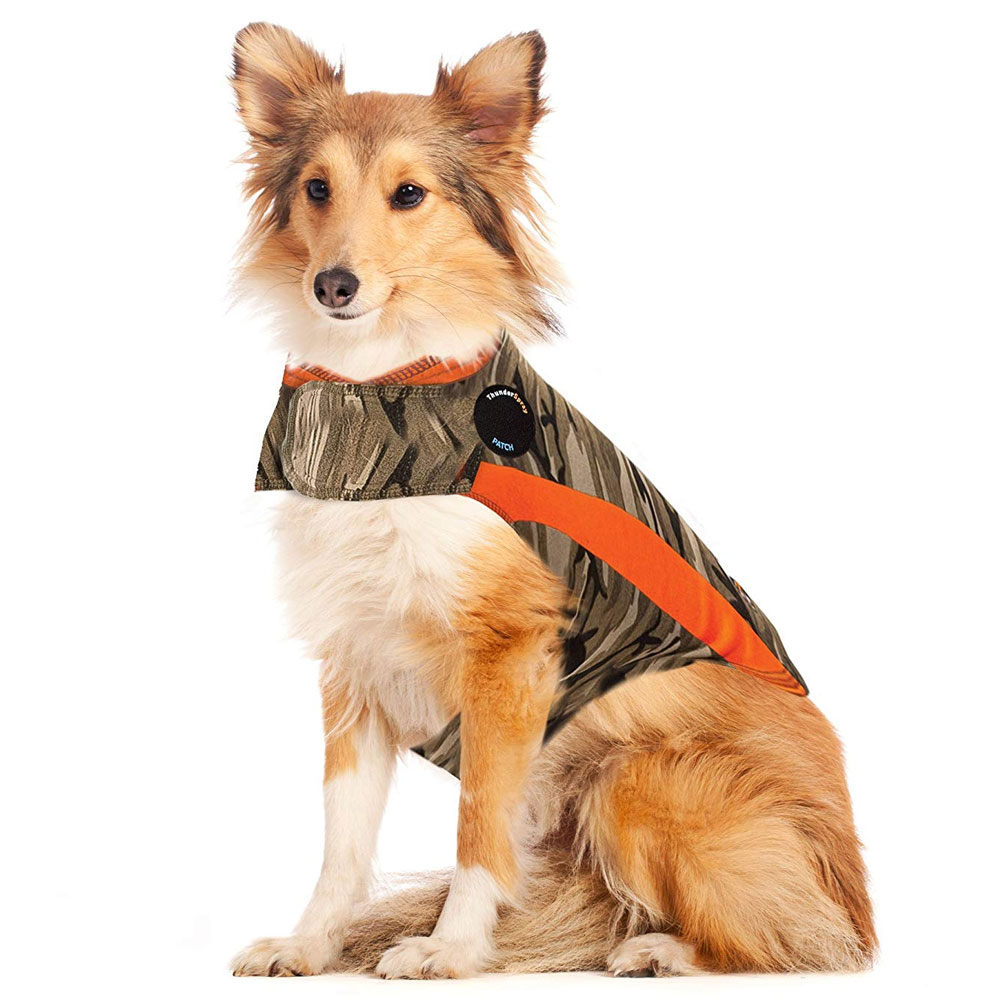 ThunderShirt Dog Anxiety Solution - Camo Polo (LARGE) im test