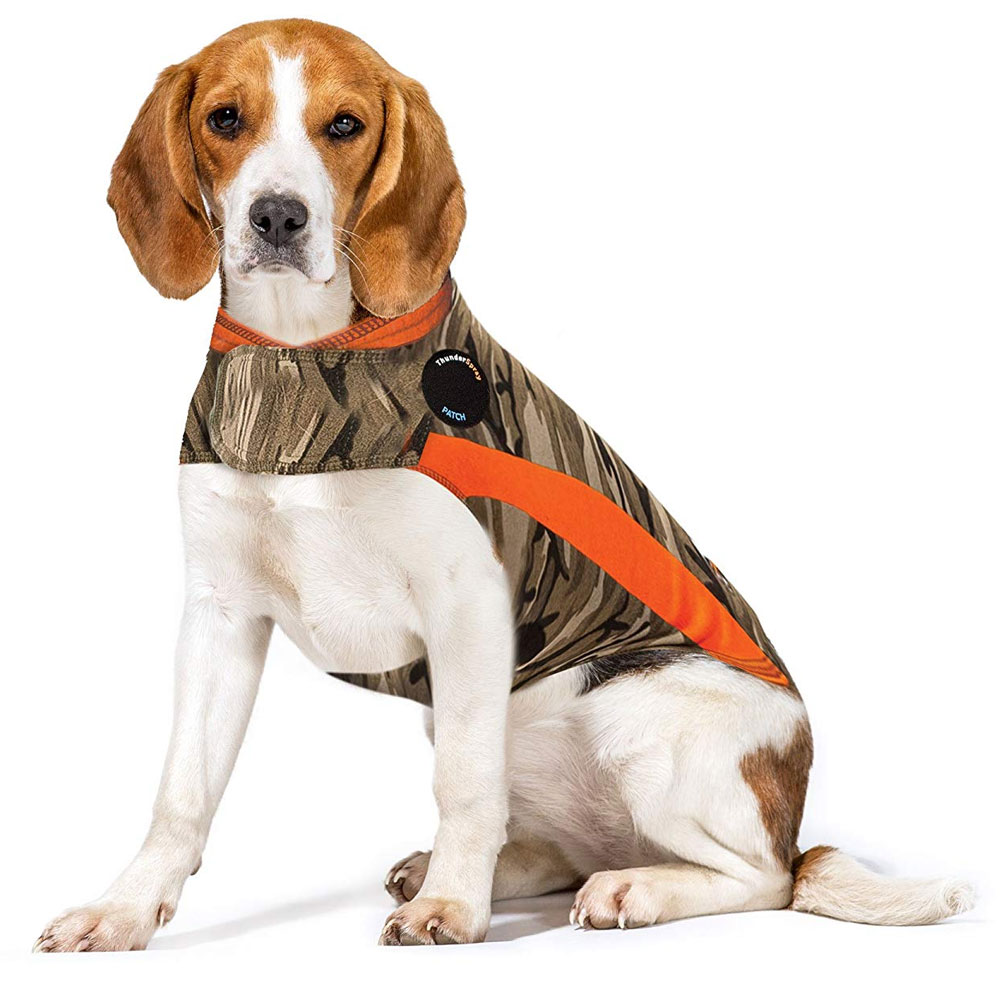 ThunderShirt Dog Anxiety Solution - Camo Polo (MEDIUM) im test