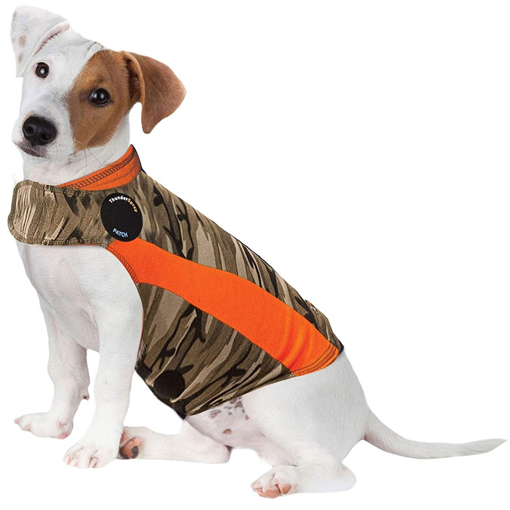 ThunderShirt Dog Anxiety Solution - Camo Polo (SMALL) im test