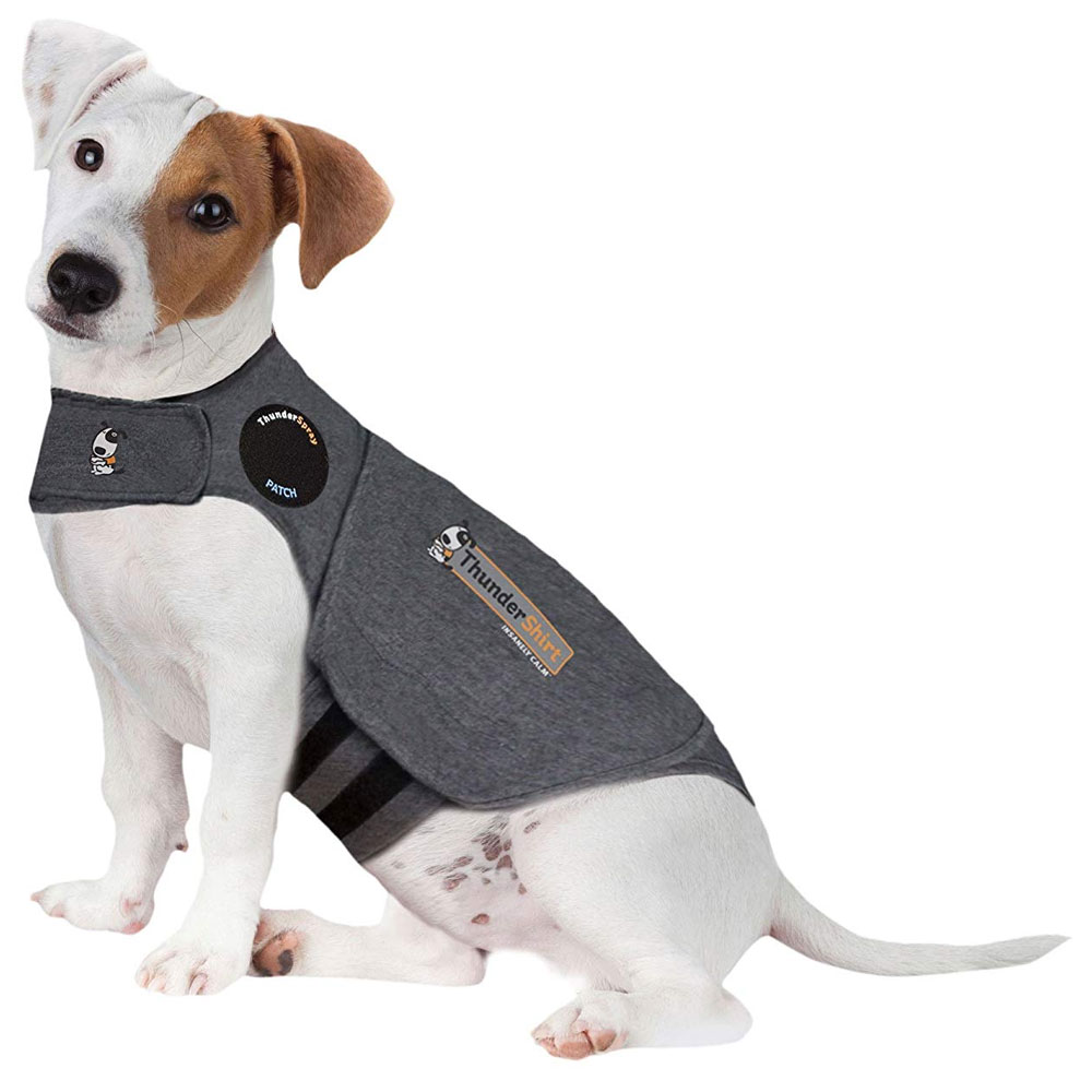 ThunderShirt Dog Anxiety Solution - Heather Gray (SMALL) im test