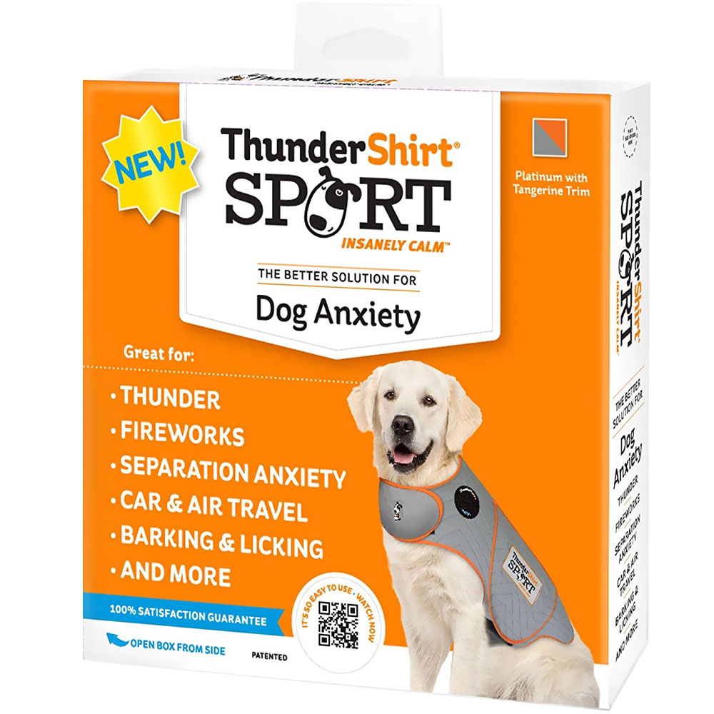 ThunderShirt Dog Anxiety Solution - Sport (SMALL) im test