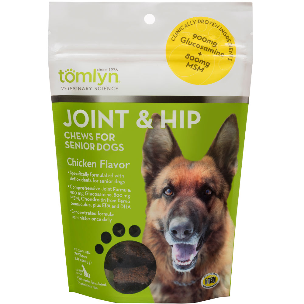 Tomlyn Joint & Hip Chews for Senior Dogs (30 count) im test
