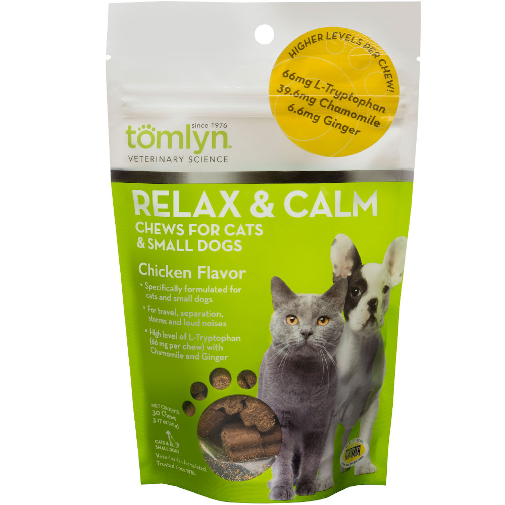 Tomlyn Relax & Calm Chews for Cats & Small Dogs (30 count) im test