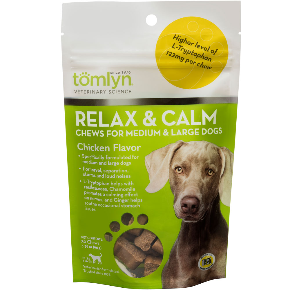 Tomlyn Relax & Calm Chicken Liver Chews for Dogs (45 chews) im test