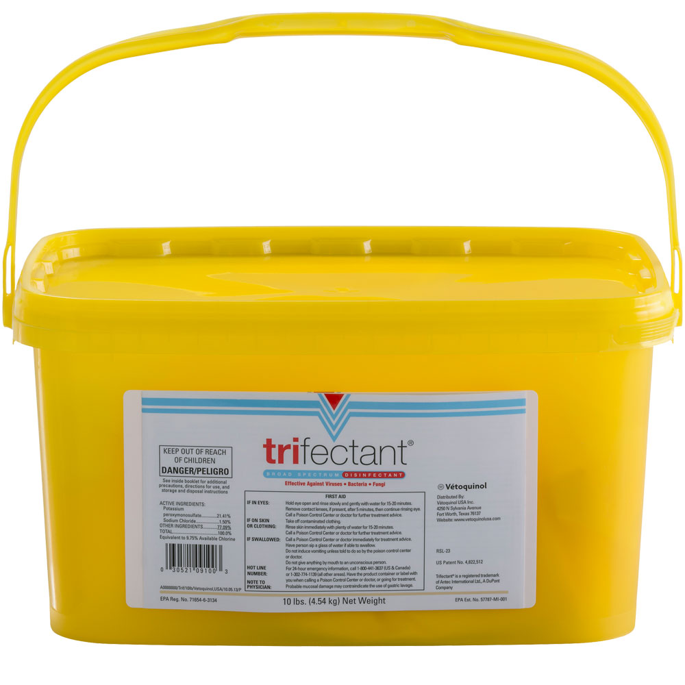 Tomlyn Trifectant Disinfectant - 10 lbs - from EntirelyPets