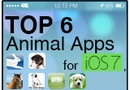 Top 5 Animal Apps for iOS7