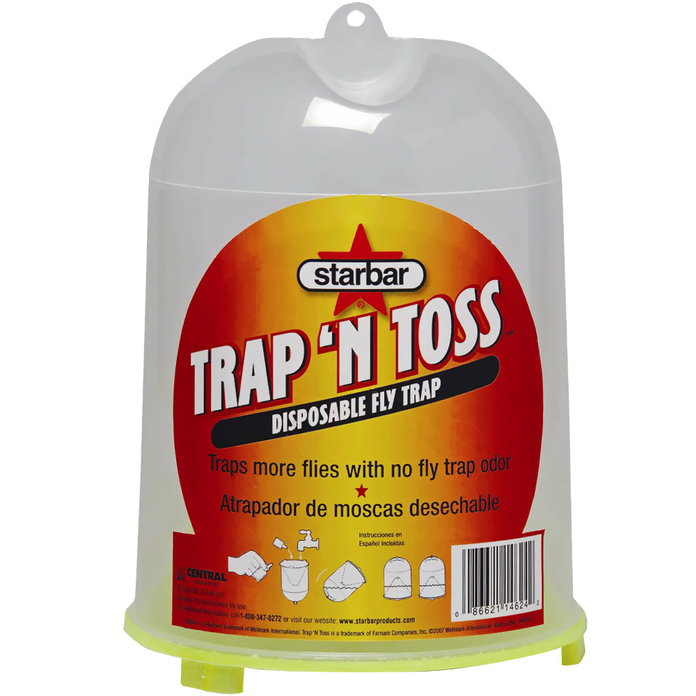 Starbar Trap 'n Toss Disposable Fly Trap im test