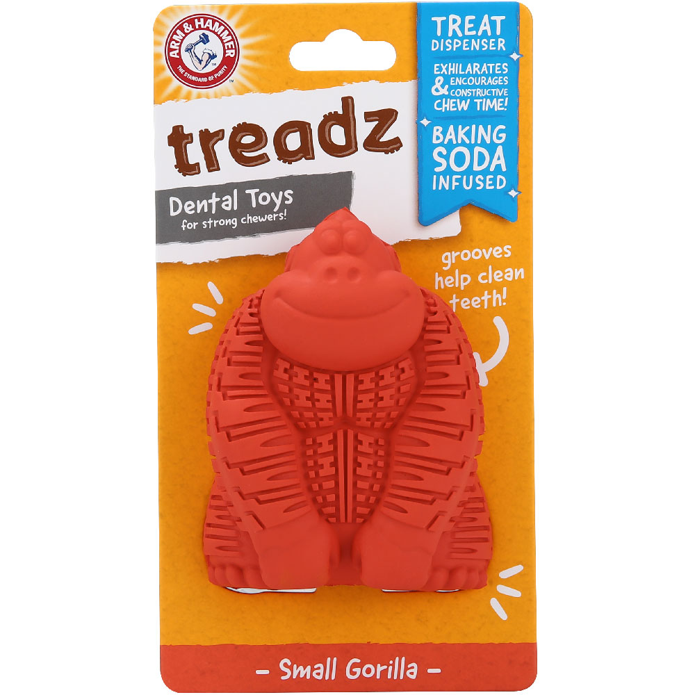 Treadz Dental Toy for Dogs - Gorilla (Small) im test