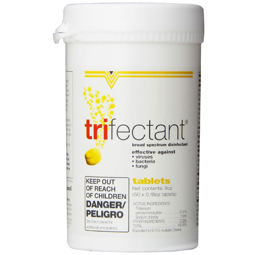 Trifectant - Broad Spectrum Disinfectant - 50 tablet - from EntirelyPets