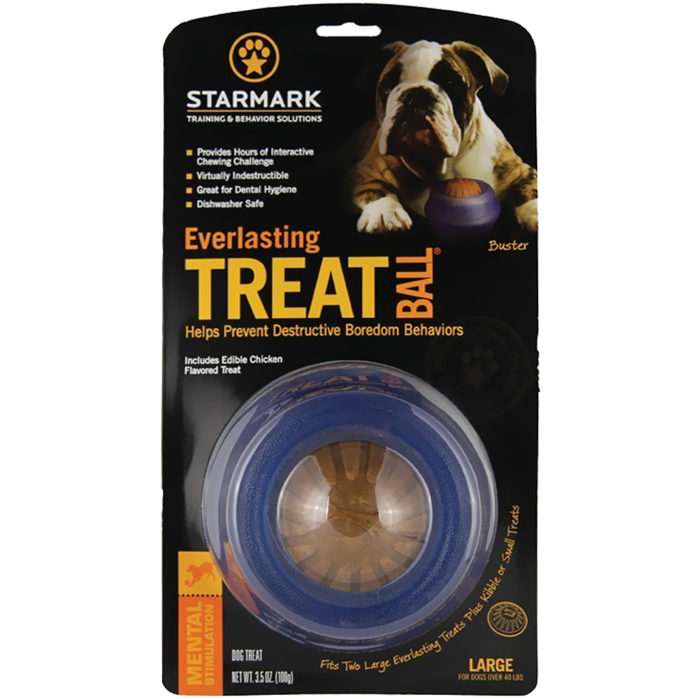 """Starmark Everlasting Treat Ball - Large (5"""" diameter)"" im test"