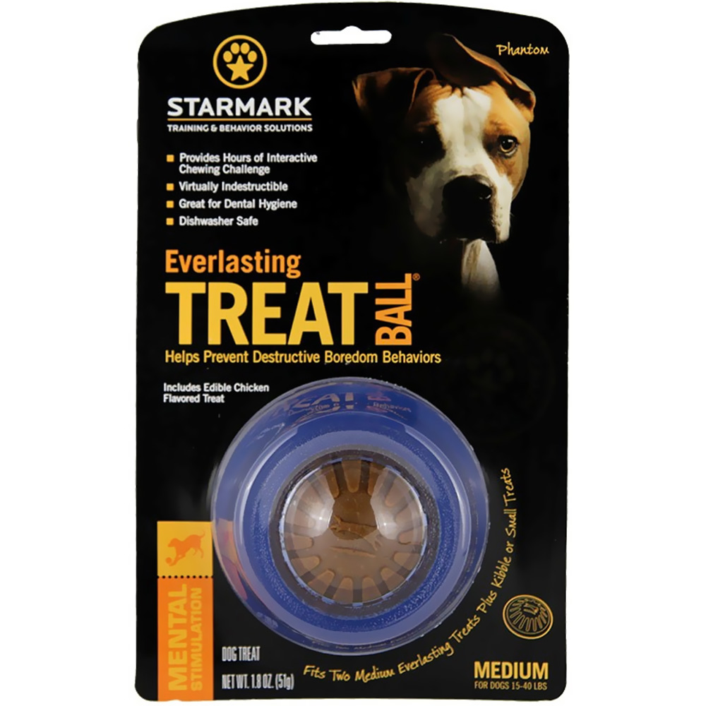 """Starmark Everlasting Treat Ball - Medium (3.75"""" diameter)"" im test"