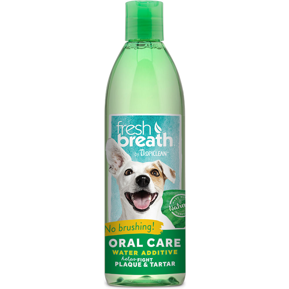 Tropiclean Fresh Breath Oral Care Water Additive (16 oz) im test