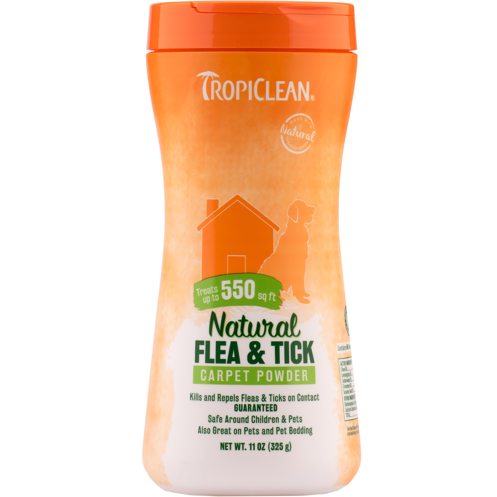 Tropiclean Natural Flea & Tick Carpet Powder (11 oz) im test