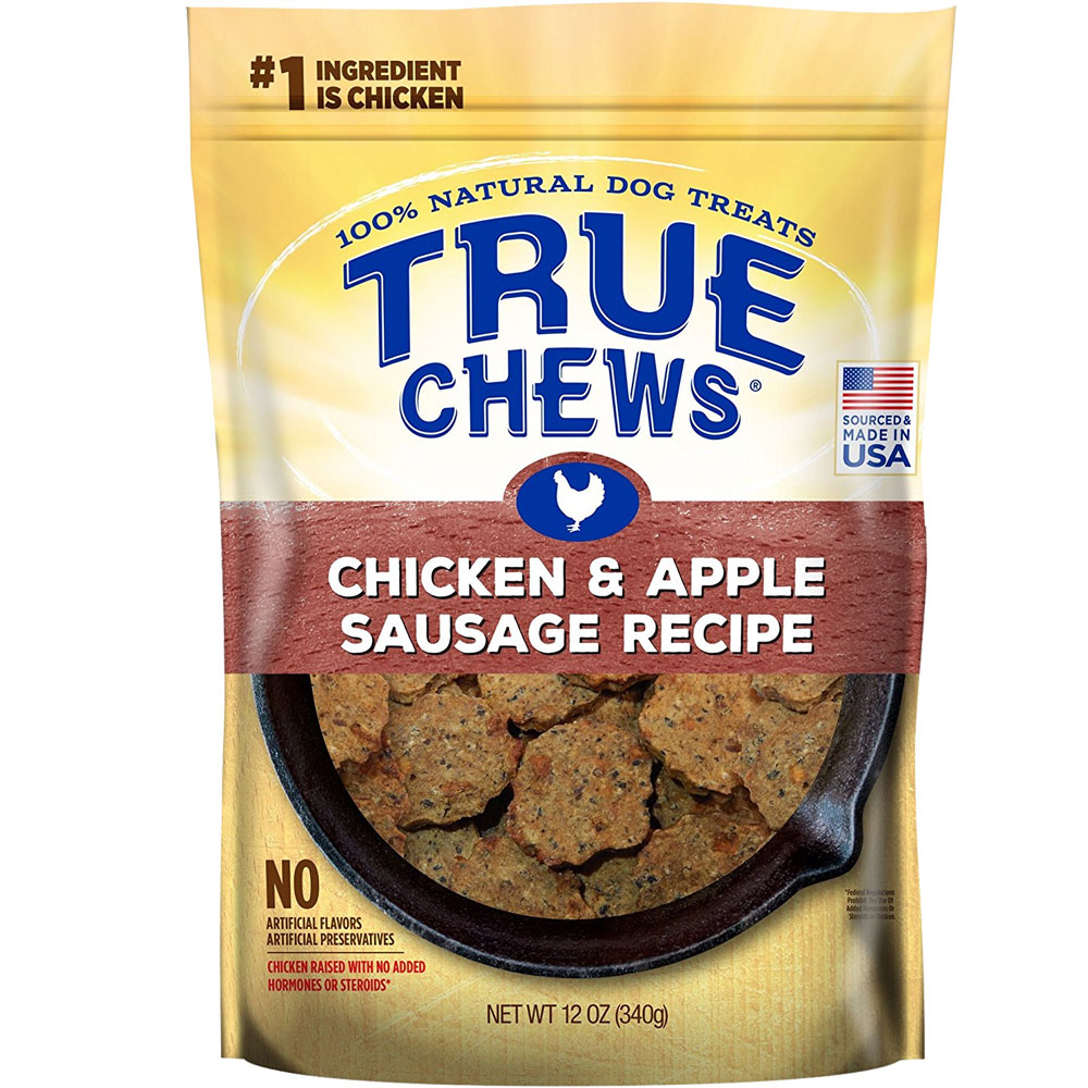 True Chews Premium Sizzlers - Apple & Sausage (12 oz) im test