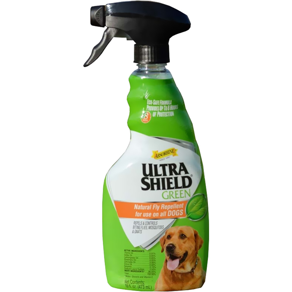 UltraShield Green Natural Fly Repellent Spray for Dogs (16 fl oz) im test