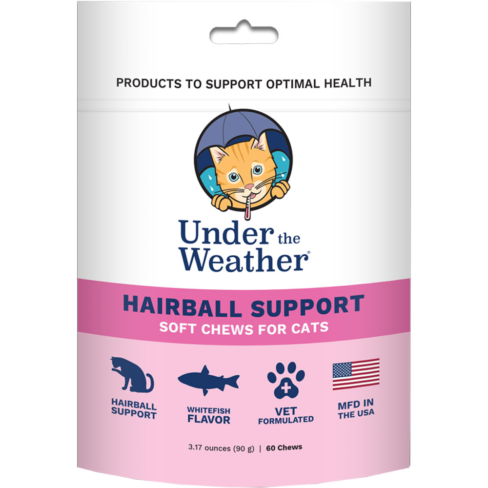 Under the Weather Soft Chews for Cats - Hairball Support (60 count) im test
