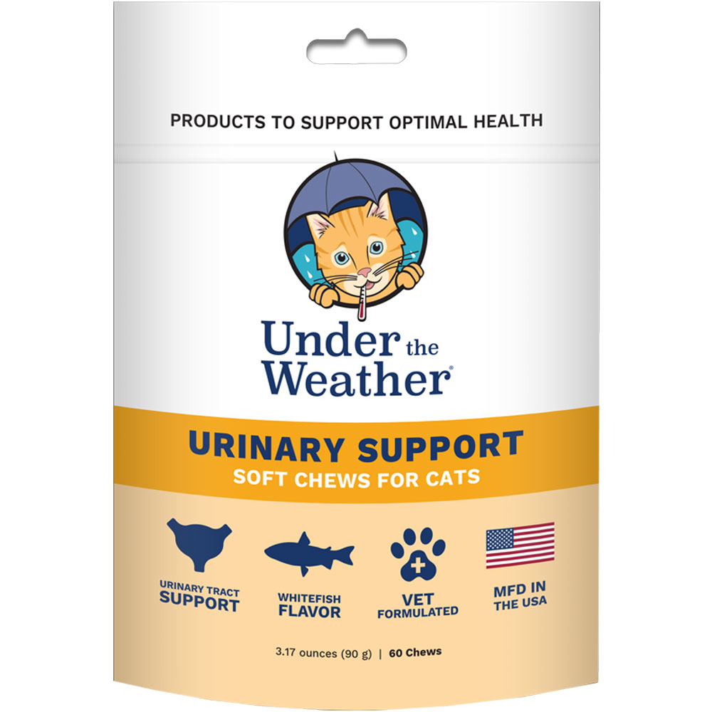 Under the Weather Soft Chews for Cats - Urinary Support (60 count) im test