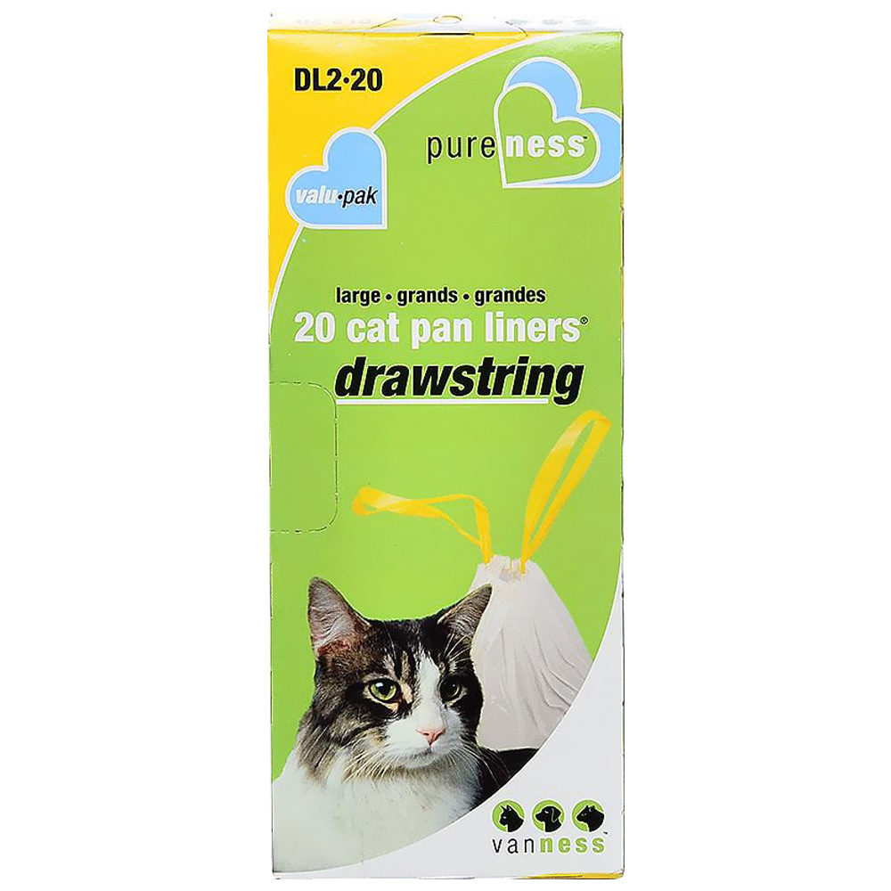 Van Ness Drawstring Cat Pan Liners - Large (20 Pack) im test