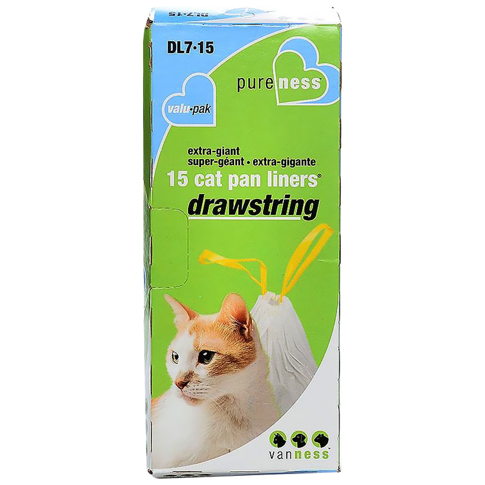 Van Ness Drawstring Cat Pan Liners - X-Giant (15 Pack) im test