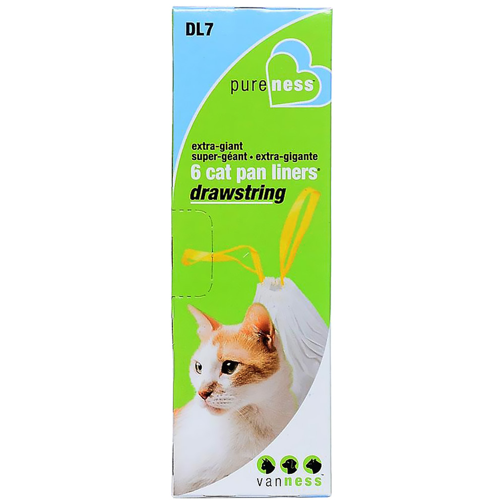 Van Ness Drawstring Cat Pan Liners - X-Giant (6 Pack) im test
