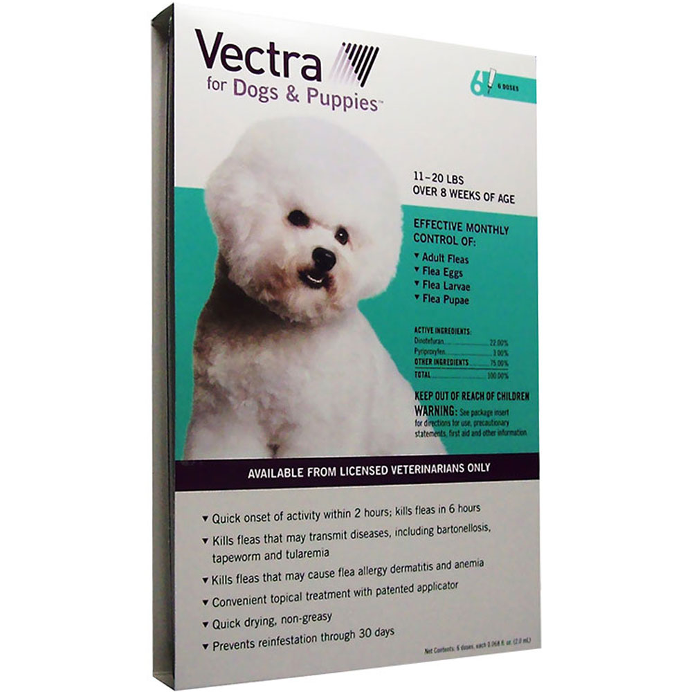 Vectra for Dogs 11 to 20 lbs - 6 Doses im test