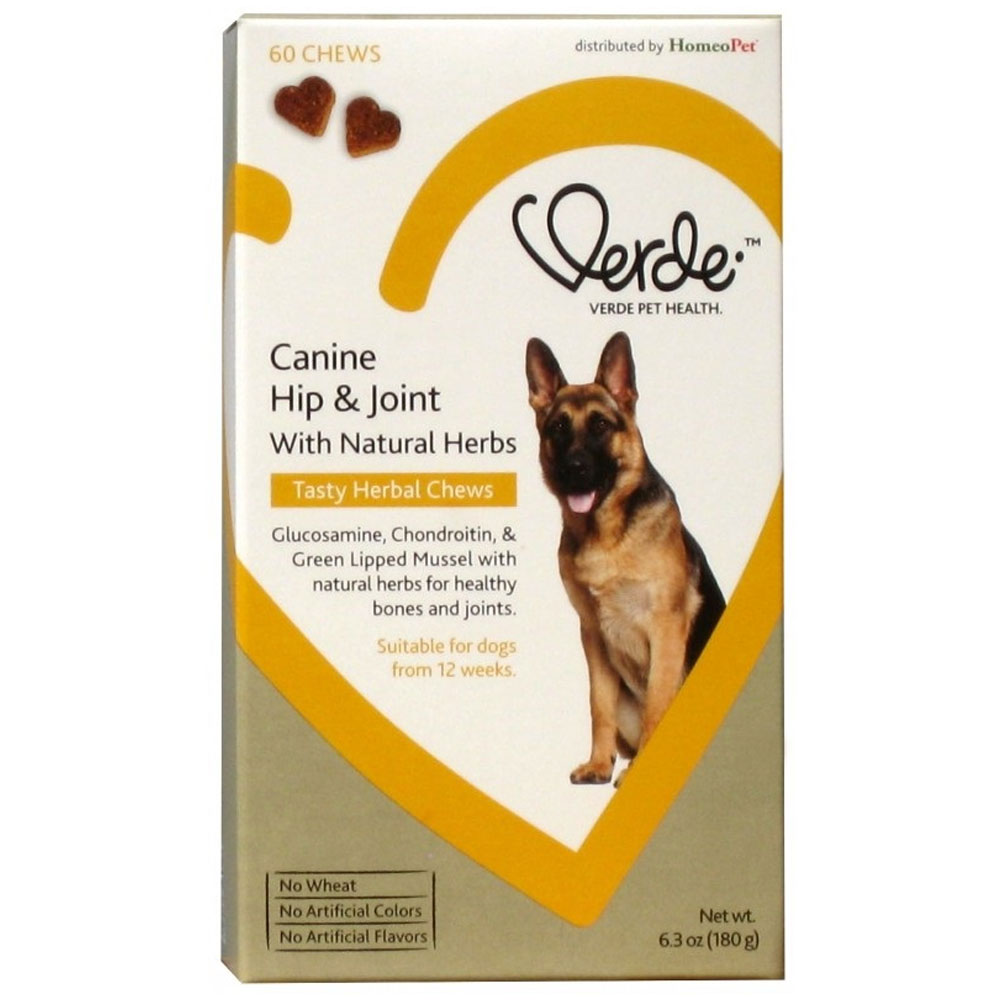 Verde Canine Hip & Joint with Natural Herbs (60 Herbal Chews) im test
