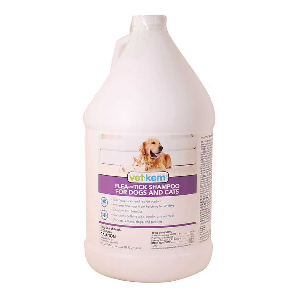 Vet Kem Flea & Tick Shampoo for Dogs & Cats (1 Gallon) im test