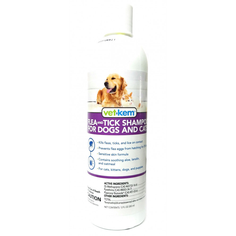 Vet Kem Flea & Tick Shampoo for Dogs & Cats (12 oz) im test