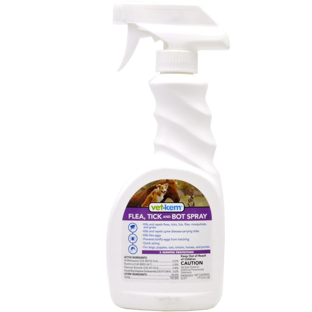 Vet-Kem Flea Tick & Bot Spray