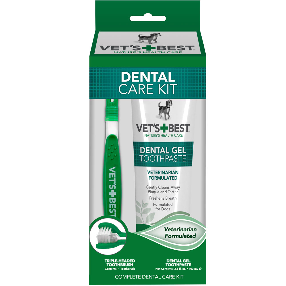 Vet's Best Dental Care Kit