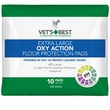"Vet's Best Extra Large OXY ACTION Floor Protection Pads 26"" x 30"" (10 pads)"