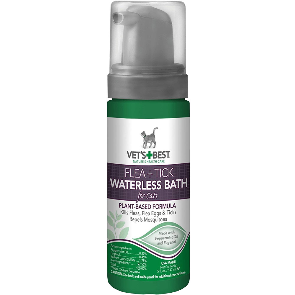 Vet's Best Flea & Tick Waterless Bath for Cats (5 fl oz) im test