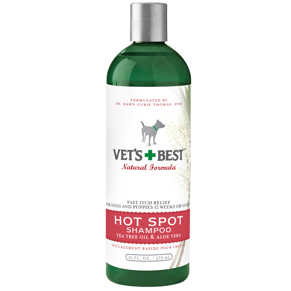 Image of Vet's Best Hot Spot Shampoo - 16 fl oz - For Dogs - from EntirelyPets