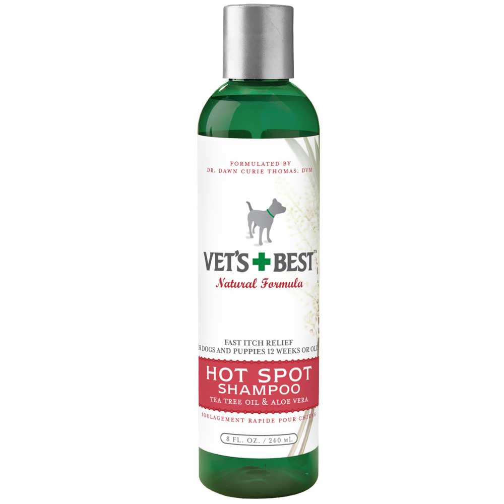 Image of Vet's Best Hot Spot Shampoo - 8 fl oz - For Dogs - from EntirelyPets