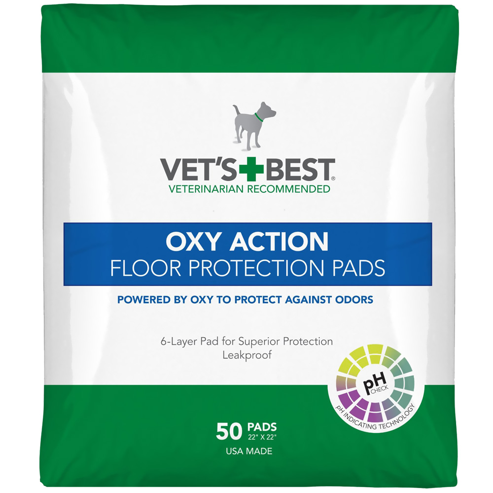 VETS-BEST-OXY-ACTION-FLOOR-PROTECTION-PADS-22X22-50-PADS