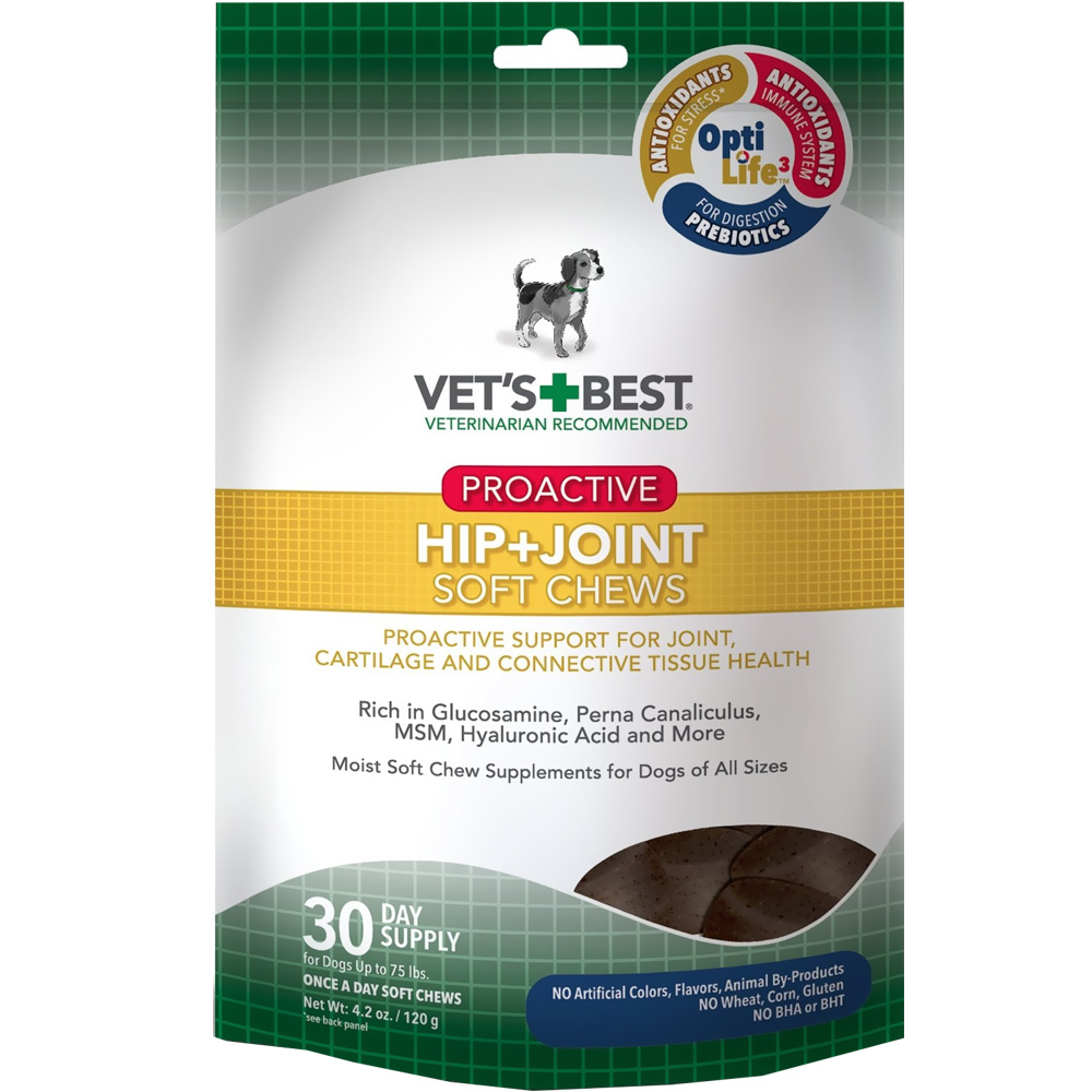 Vet's Best Proactive Hip + Joint Soft Chews (30 count) im test
