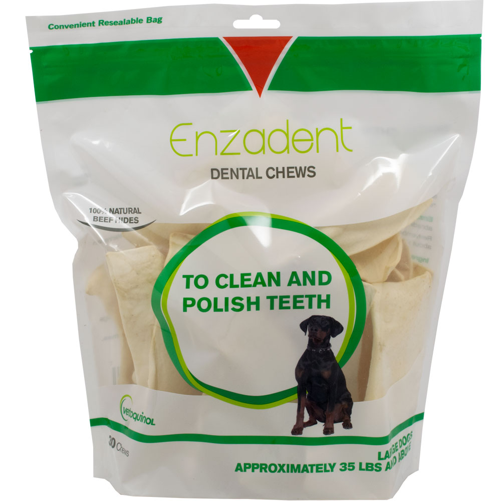 Vetoquinol Enzadent Dental Chews for Large Dogs (30 count) im test